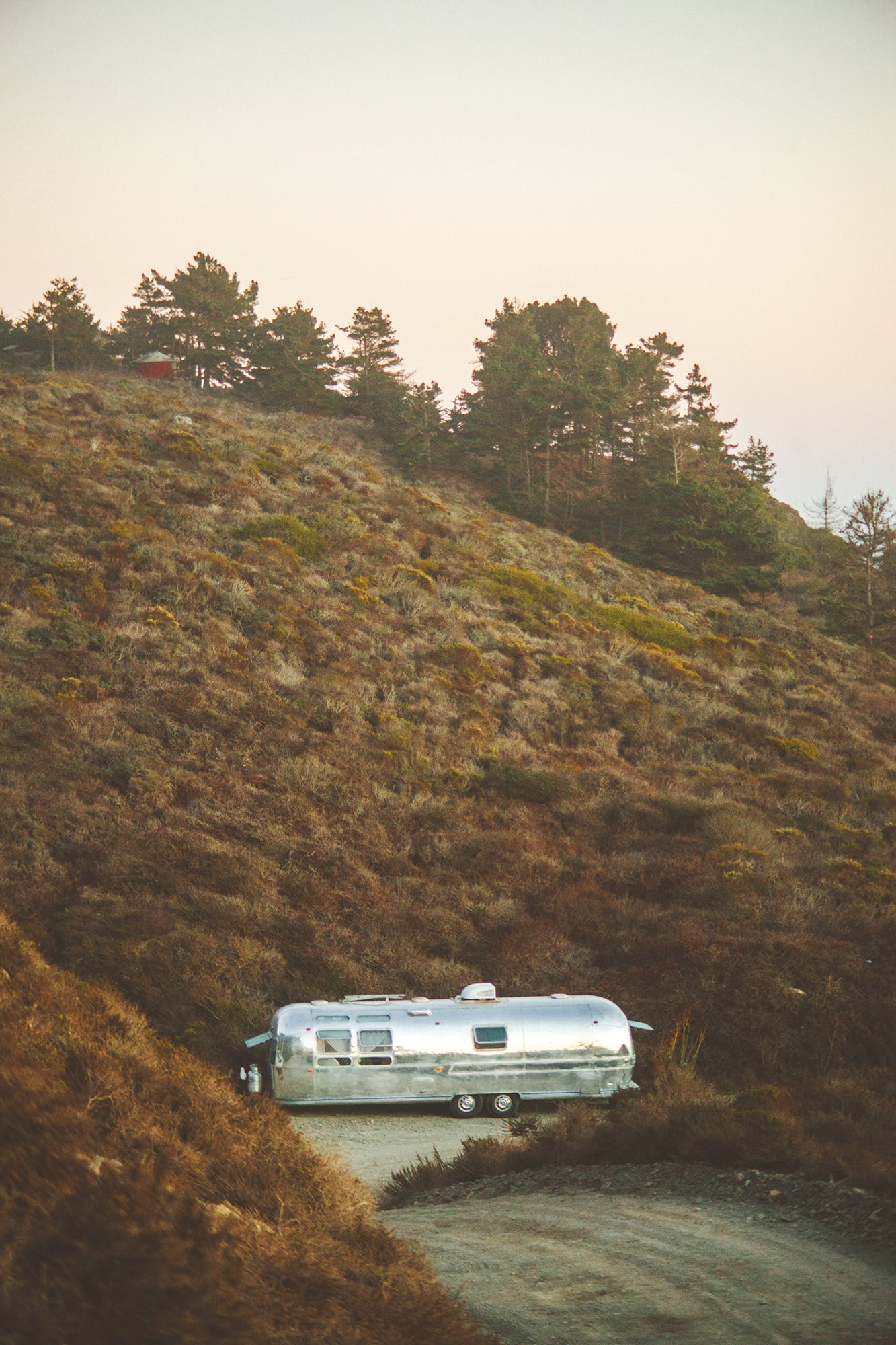 nicely tucked away in big sur camping