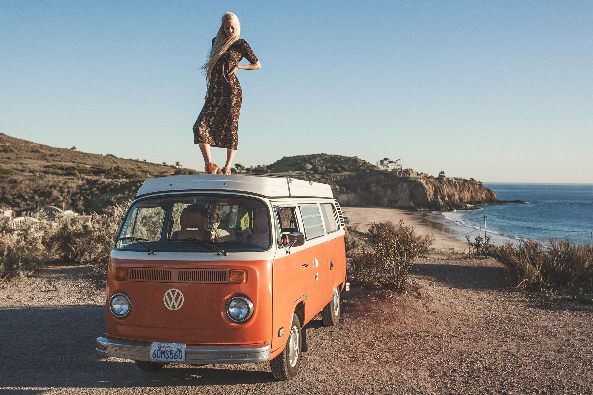 Sarah Loven for Sea Gypsies and VW Surfer Wagons